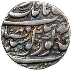 SIKH EMPIRE: AR nanakshahi rupee (11.00g), Amritsar, VS1855. VF