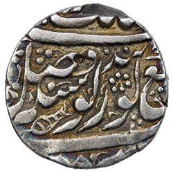 SIKH EMPIRE: AR nanakshahi rupee (11.01g), Amritsar, VS1861. VF