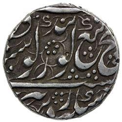 SIKH EMPIRE: AR nanakshahi rupee (11.04g), Amritsar, VS1867. VF