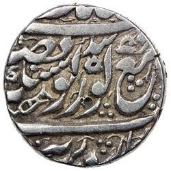 SIKH EMPIRE: AR morashahi rupee (11.04g), Amritsar, VS1862, peacock, Herrli-04.13, SS-31.01, VF