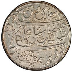 BENGAL PRESIDENCY: AR 1/2 rupee, Murshidabad, year 19. PCGS MS63
