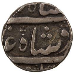 BOMBAY PRESIDENCY: AR rupee (11.41g), regnal year 49. VF