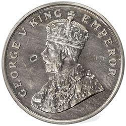 BRITISH INDIA: George V, 1910-1936, 8 annas, 1920(b). PF