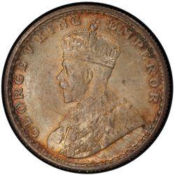 BRITISH INDIA: George V, 1910-1936, AR ½ rupee, 1923(c), KM-522, S& W-8.97, PCGS graded MS65