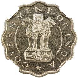 INDIA: Republic, 1 anna, 1950(b). NGC PF64
