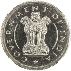 INDIA: Republic, 1/2 rupee, 1950(b). NGC PF65