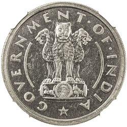 INDIA: Republic, 1 rupee, 1950(b). NGC PF64