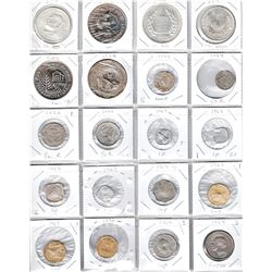 INDIA: LOT of approximately 260+ coins, diverse selection