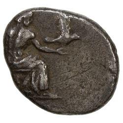 ARCADIAN LEAGUE: Tegea, circa 460-450 BC, AR hemidrachm (2.82g), Peloponnese. F
