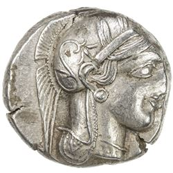 ATHENS: Anonymous, 449-413 BC, AR tetradrachm (17.12g). VF-EF
