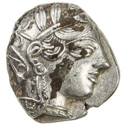 ATHENS: Anonymous, 449-413 BC, AR tetradrachm (17.11g). VF