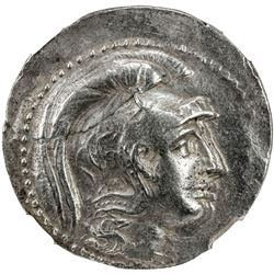 ATHENS: AR tetradrachm (16.89g), ND (ca. 140-39 BC?). NGC VF