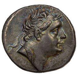 BITHYNIA: Nikomedes III Euergetes, 127-194 BC, AR tetradrachm (16.67g), Nikomedia. VF