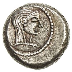 COLCHIS (GEORGIA): Anonymous, 5th-4th century BC, AR hemidrachm (2.11g). VF