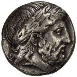 MACEDONIAN KINGDOM: Philip II, 359-336 BC, AR tetradrachm (14.11g). VF