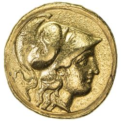 MACEDONIAN KINGDOM: Alexander III, the Great, 336-323 BC, AV stater (8.60g), ND (ca. 330-320 BC). VF