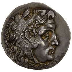 MACEDONIAN KINGDOM: Alexander III, the Great, 336-323 BC, AR tetradrachm (16.17g), Mesembria. EF