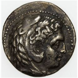 MACEDONIAN KINGDOM: Philip III, 323-317 BC, AR tetradrachm (16.91g), Babylon. VF-EF