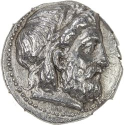 SELEUKID KINGDOM: Seleukos I Nikator, 312-281 BC, AR tetradrachm (17.07g), Seleukeia on the Tigris m