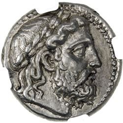 SELEUKID KINGDOM: Seleukos I Nikator, 312-281 BC, AR tetradrachm (17.20g), Seleukeia on the Tigris m