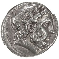 SELEUKID KINGDOM: Seleukos I Nikator, 312-281 BC, AR tetradrachm (17.05g), Seleukeia on the Tigris m