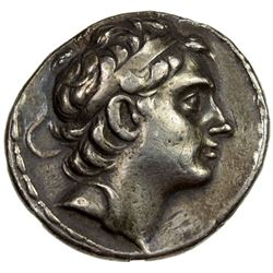 SELEUKID KINGDOM: Antiochos III Megas, 223-187 BC, AR tetradrachm (17.18g), Antioch on the Orontes m