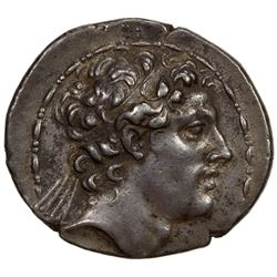 SELEUKID KINGDOM: Antiochus IV Epiphanes, 175-164 BC, AR tetradrachm (16.65g), Antioch on the Oronte