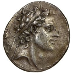 SELEUKID KINGDOM: Antiochos IV Epiphanes, 175-164 BC, AR tetradrachm (17.19g), Antioch on the Oronte