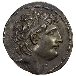 SELEUKID KINGDOM: Antiochos VII Euergetes, 138-129 BC, AR tetradrachm (16.38g), Antioch on the Oront