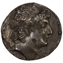 SELEUKID KINGDOM: Antiochos VIII Grypos, 121-96 BC, AR tetradrachm (15.92g), Tarsos mint. VF