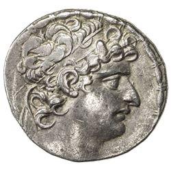 SELEUKID KINGDOM: Seleukos VI Epiphanes Nikator, 95-94 BC, AR tetradrachm (15.49g), Antioch on the O