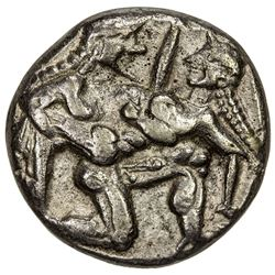 THRACIAN CITIES: Anonymous, circa 510-490 BC, AR stater (7.19g), Thasos. VF-EF