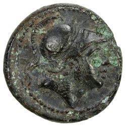 ROMAN REPUBLIC: Anonymous, circa 241-235 BC, AE litra (2.71g), Rome mint. EF