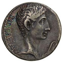 ROMAN EMPIRE: Augustus, 27 BC-14 AD, AR cistophoric tetradrachm (11.81g), Ephesus mint. VF