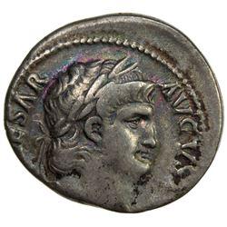 ROMAN EMPIRE: Nero, 54-68 AD, AR denarius (3.47g), Rome mint. F-VF