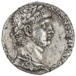 ROMAN EMPIRE: Nero, 54-68 AD, AR tetradrachm (13.78g), Antioch. VF