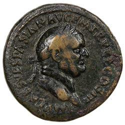 ROMAN EMPIRE: Vespasian, 69-79 AD, AE sestertius (23.99g). VG-F