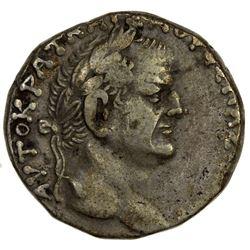 ROMAN EMPIRE: Vespasian, 69-79 AD, AR tetradrachm (14.54g), Antioch, Syria. F