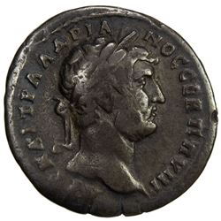 ROMAN EMPIRE: Hadrian, 117-138 AD, AR drachm (2.51g), Amisos, Pontus, year 163 (=AD 131/32). VF