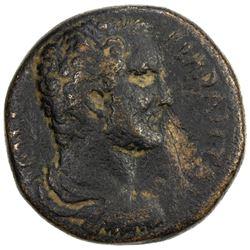 ROMAN EMPIRE: Antoninus Pius, 138-161 AD, AE 26, Aelia Capitolina, Fine