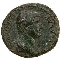 ROMAN EMPIRE: Hadrian, 117-138 AD, AE dupondius (10.69g), Rome mint. F-VF