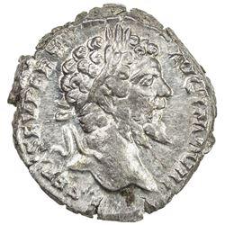 ROMAN EMPIRE: Septimius Severus, 193-211 AD, AR denarius (3.04g), Rome (197). EF-AU