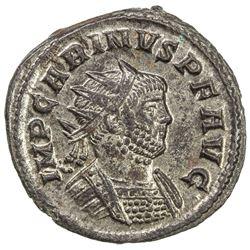 ROMAN EMPIRE: Carinus, 283-285 AD, AR antoninianus (3.33g), Rome mint. AU