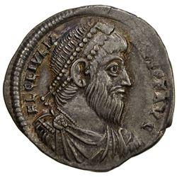 ROMAN EMPIRE: Julian II, 360-363 AD, AR siliqua (2.05g), Antioch mint. EF