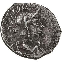 BYZANTINE EMPIRE: Justinian I, 527-565, AR 1/2 siliqua (20 nummi) (1.05g), Constantinople, ND. VF