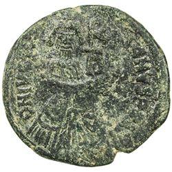 BYZANTINE EMPIRE: Heraclius, 610-641, AE follis (15.56g), Sicilian mint. EF