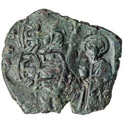 BYZANTINE EMPIRE: Heraclius, 610-641, AE follis (5.68g), Sicilian mint. EF