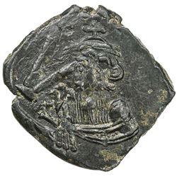 BYZANTINE EMPIRE: Constans II, 641-668, AE follis (5.51g), Syracuse, Sicily. EF