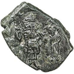 BYZANTINE EMPIRE: Constans II, 641-668, AE follis (4.05g), Syracuse, Sicily. EF