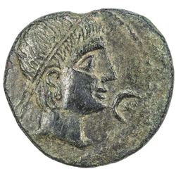 SPAIN: Castulo: Anonymous, 2nd century BC, AE 26 (13.92g). F-VF